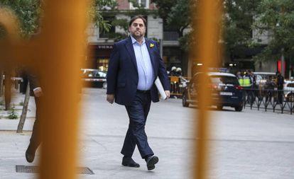 Catalan separatist leader Oriol Junqueras.