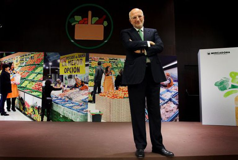 Juan Roig saw that the future lay in Mercadona's good-value own brands before the crisis took a grip in Spain.