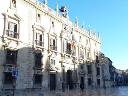 The headquarters of the Andalusian High Court in Granada.