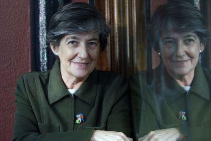 Laura Mintegi is running for regional premier for the newly formed EH Bildu coalition.