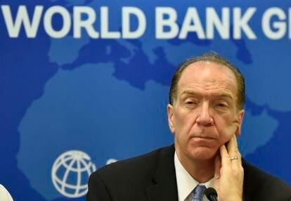 World Bank President David Malpass in late October in New Delhi, India.