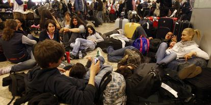 The closure of airspace in December 2010 caused chaos at Madrid-Barajas and other airports.