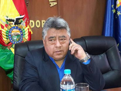 Interior Minister Rodolfo Illanes.