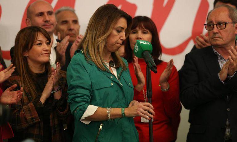 Andalusian PM Susana Díaz on Sunday.