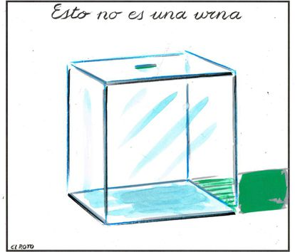This is not a ballot box