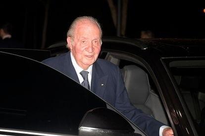 Spain's emeritus king Juan Carlos I last February in Madrid.
