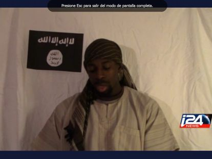 Amédy Coulibaly appears in a video that was released after his death.