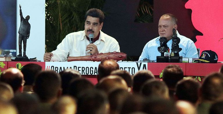 Venezuela's President Maduro during a TV appearance this week.