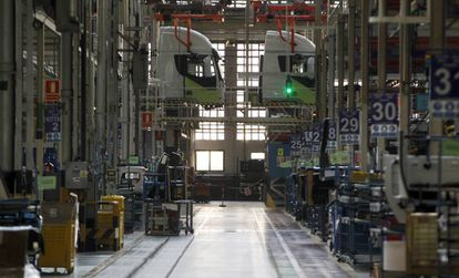 The Iveco factory outside Madrid.