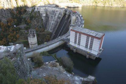 The Santo Estevo hydroelectric plant in northern Spain.