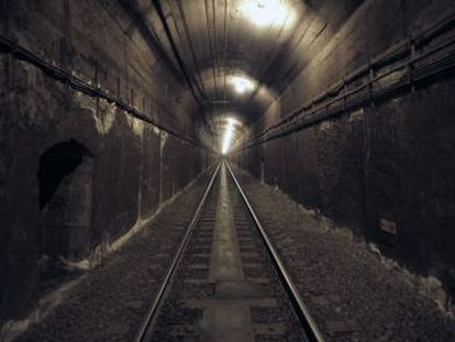 Deep under the capital there are a series of disused stations and abandoned tunnels, which date back to the 1930s