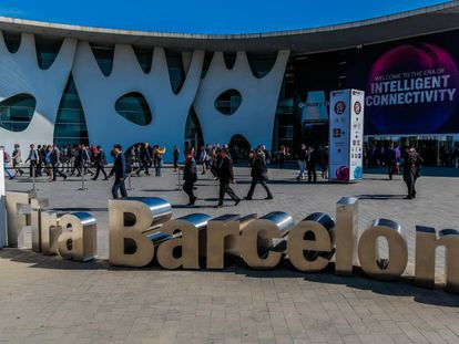 The Mobile World Congress 2019.