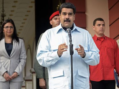 Presidente Maduro in Caracas on Wednesday.