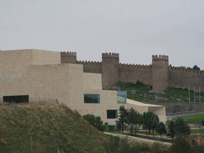 The convention center in Ávila near the medieval walls.