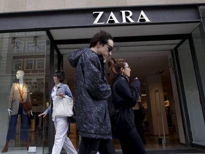 A Zara store in Madrid.
