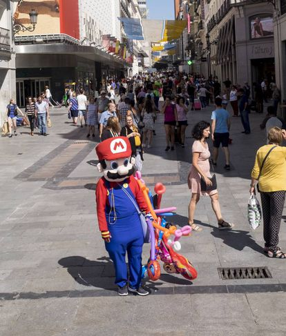 Marcos Herrera has been dressing up as Mario for five years.