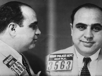 Al Capone's mugshot.