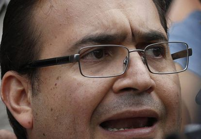 Former Veracruz government Javier Duarte faces charges of money laundering and organized crime.