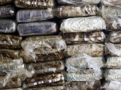 The amount of drugs smuggled through the Caribbean has increased over the last two years.