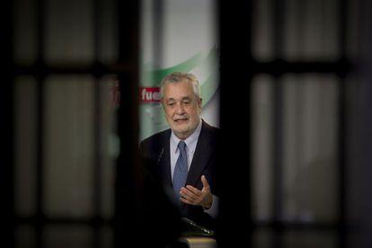 José Antonio Griñan, speaking on Tuesday.