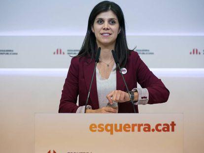 ERC spokeswoman Marta Vilalta.