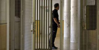 The Aluche migrant center has been criticized in the past.
