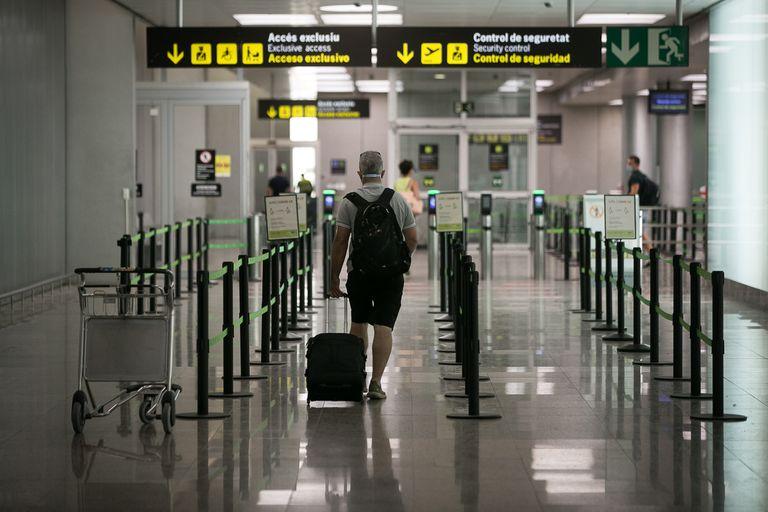 Terminal 2 at Barcelona's El Prat airport.