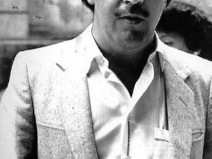 Pablo Escobar, seen in a photograph from the 1980s.