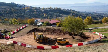 In November of last year, researchers dug at a spot called Peñón Colorado.