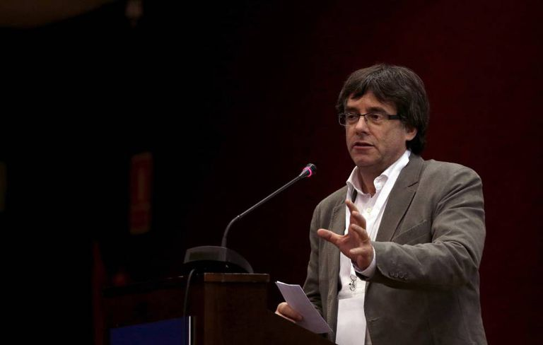 Catalan premier Carles Puigdemont said he is willing to sit down with Mariano Rajoy.