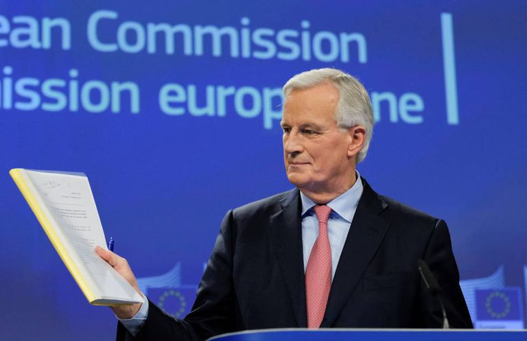The EU's Brexit negotiator Michel Barnier.