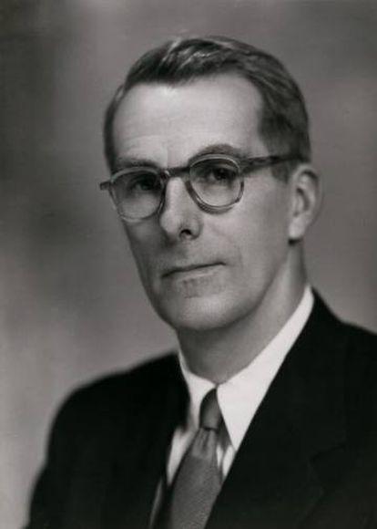 Fraser Brockington in 1952.