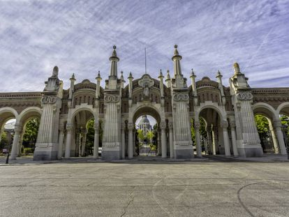The Almudena cemetery in Madrid, where Stile Antico will perform on July 22.