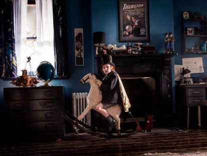 Problem child: Noah Wiseman in 'The Babadook.'