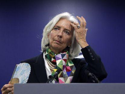 IMF Managing Director Christine Lagarde in Seoul.