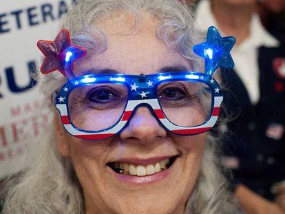 A Trump supporter in Colorado.