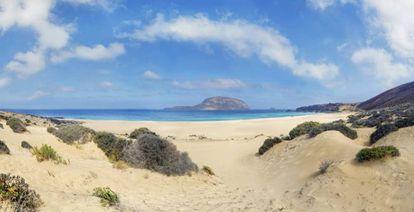 Conchas Beach on Graciosa Island