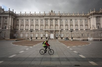 Madrid during the state of alarm in April.