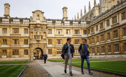 Cambridge University in the United Kingdom.