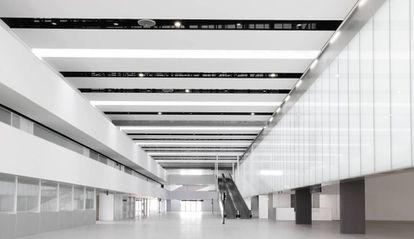 Facilities at Corvera airport.