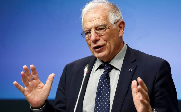 Spanish Foreign Affairs Minister Josep Borrell.
