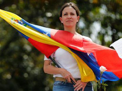 Venezuelan opposition leader Maria Corina Machado is being targeted by state prosecutors.