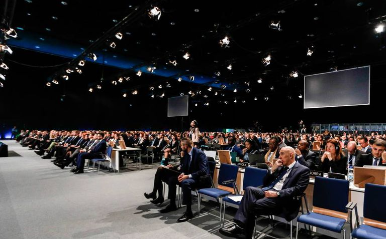 Last year's climate change summit in Poland.
