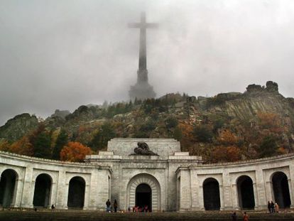 The Valley of the Fallen monument, where Franco's remains lie.