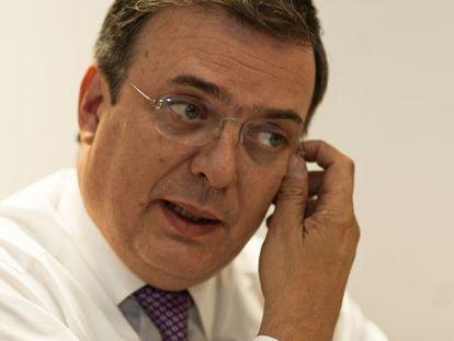 Marcelo Ebrard, former Mexico City mayor.