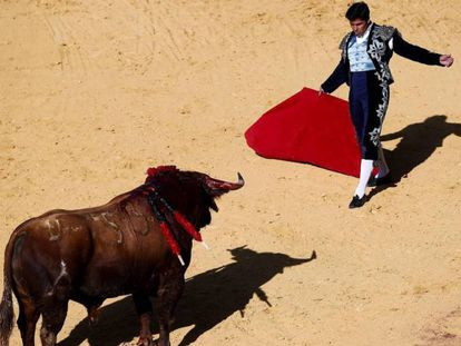 A bullfight in Ronda in the southern region of Andalusia.