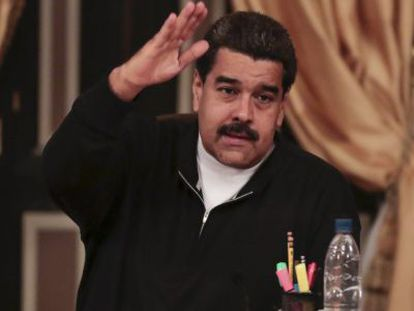 President Nicolás Maduro on Tuesday.