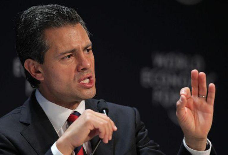 Mexican President Enrique Peña Nieto.