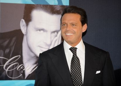 Luis Miguel in Madrid, May 2008.
