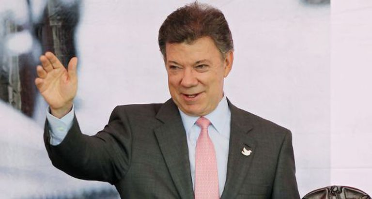 Presidente Juan Manuel Santos hopes to get talks started again.